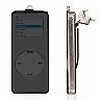 iPod Nano 2 Crystal Hard Case Black