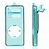 iPod Nano 2 Crystal Hard Case Blue