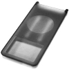 iPod Nano Silicon Case Black