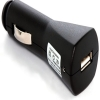 iPod Click Wheel USB Car Charger Black