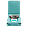 iPod Nano 3 Leather Case Blue