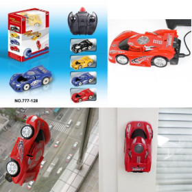 Infra Red Remote Control Wall Climbing Car
