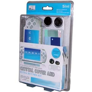 PSP Crystal Cover 5 in 1 Kit