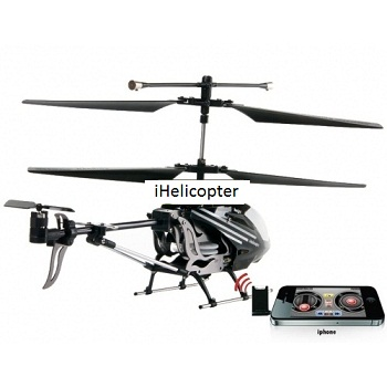 Remote Control 3.5 Channel Metalic iPhone / iTouch Helicopter (iHelicopter)